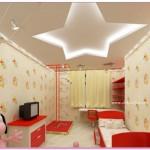Çocuk Odası Yaratıcı Asma Tavan Modelleri 2016