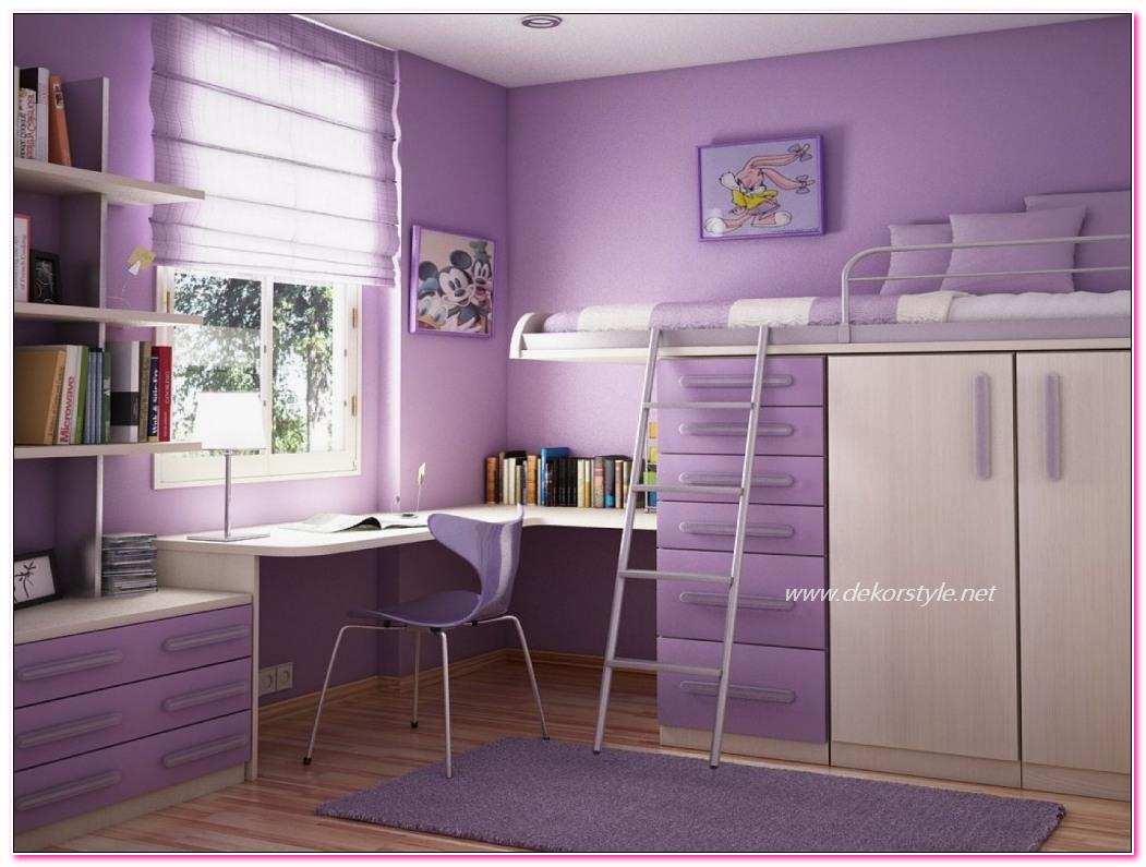 Ev Dekorasyonunda Lila Rengi ve Mor Renklerin Kullanımı