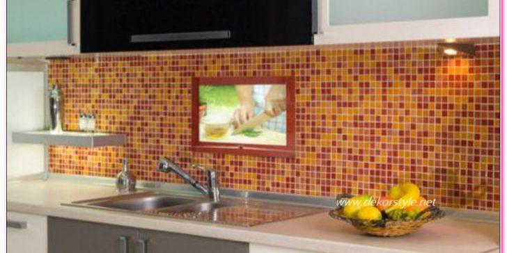 Mutfak Dekorasyonunda Cam Mozaik