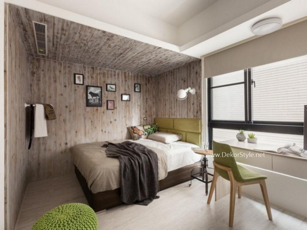 Yeşil Rengin Yatak Odası Dekorasyonunda Kullanımı