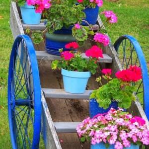 Doğal Bahçe Dekor Süsleri