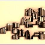 Duvar Monteli Kitaplık Tasarımları