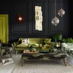 Farklı Tasarımlar Yeşil ve Siyah Renklerin Uyumu