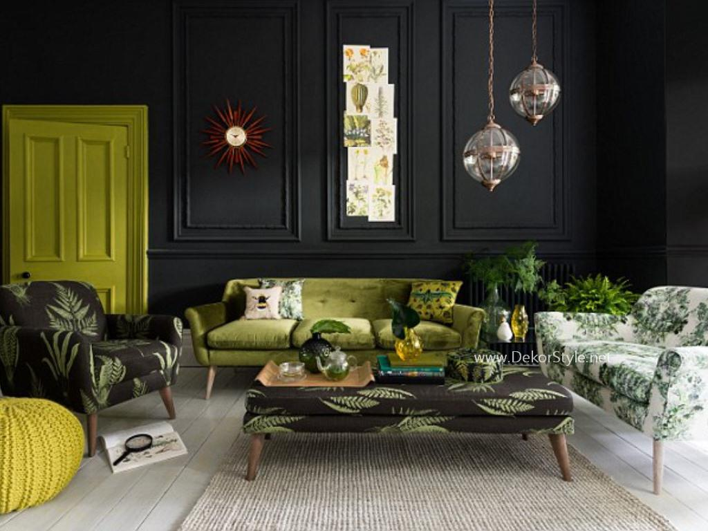 Sezonun trendi yeşil dekorasyon