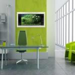 Modern Ofis Dekorasyonunda Yeşil Rengin Yeri