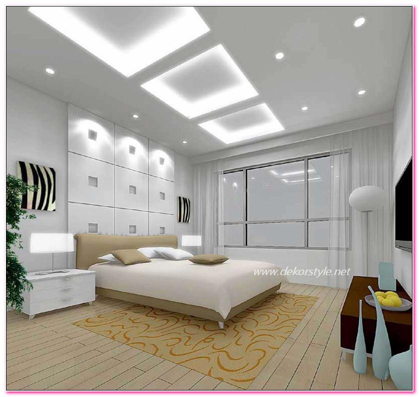 Mutfak Tavan Tasarimlari 5: Yatak Odası Asma Tavan 2016 Modelleri