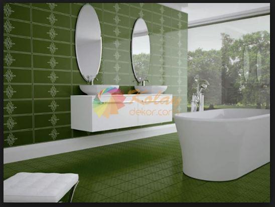 Yeşil Fayans Renkleri ve Modelleri