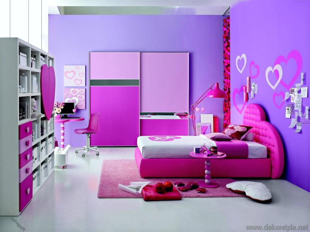 2016 Trend Renkleri ile Ev Dekorasyonları Pembe Mor Odalar