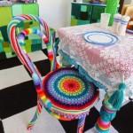 Elişi Mutfak Aksesuarları Örgü Sandalye Örtüleri