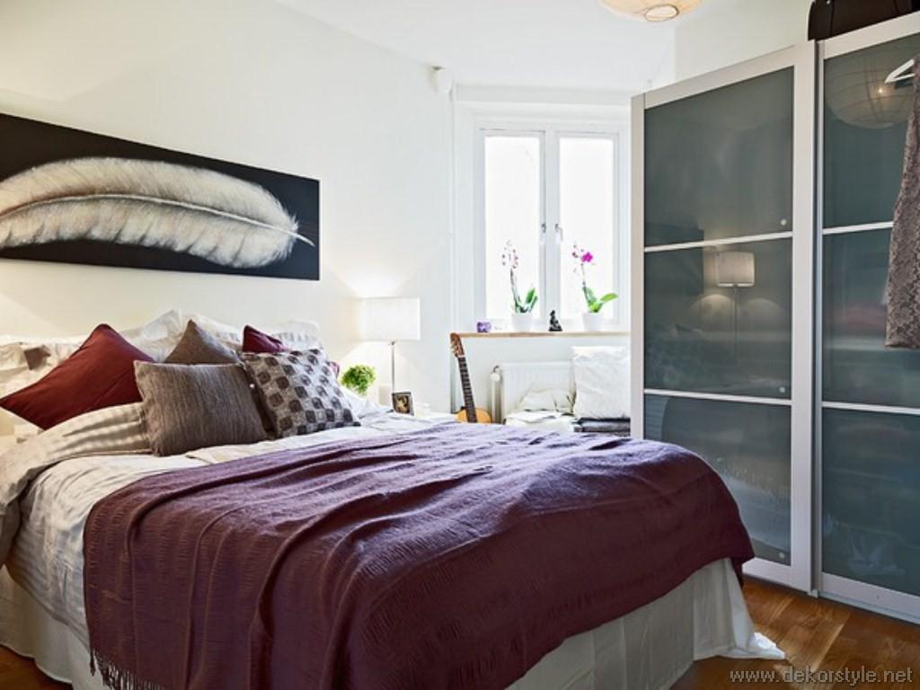 Küçük Yatak Odaları Dekorasyonu