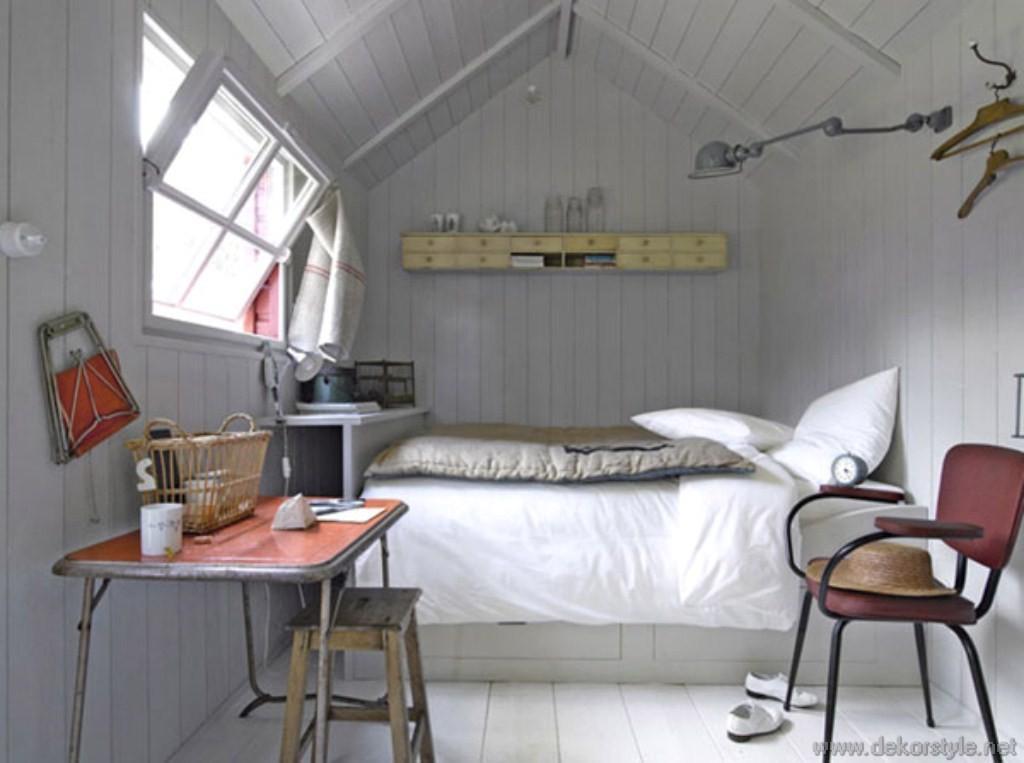 Küçük Yatak Odaları Dizaynı