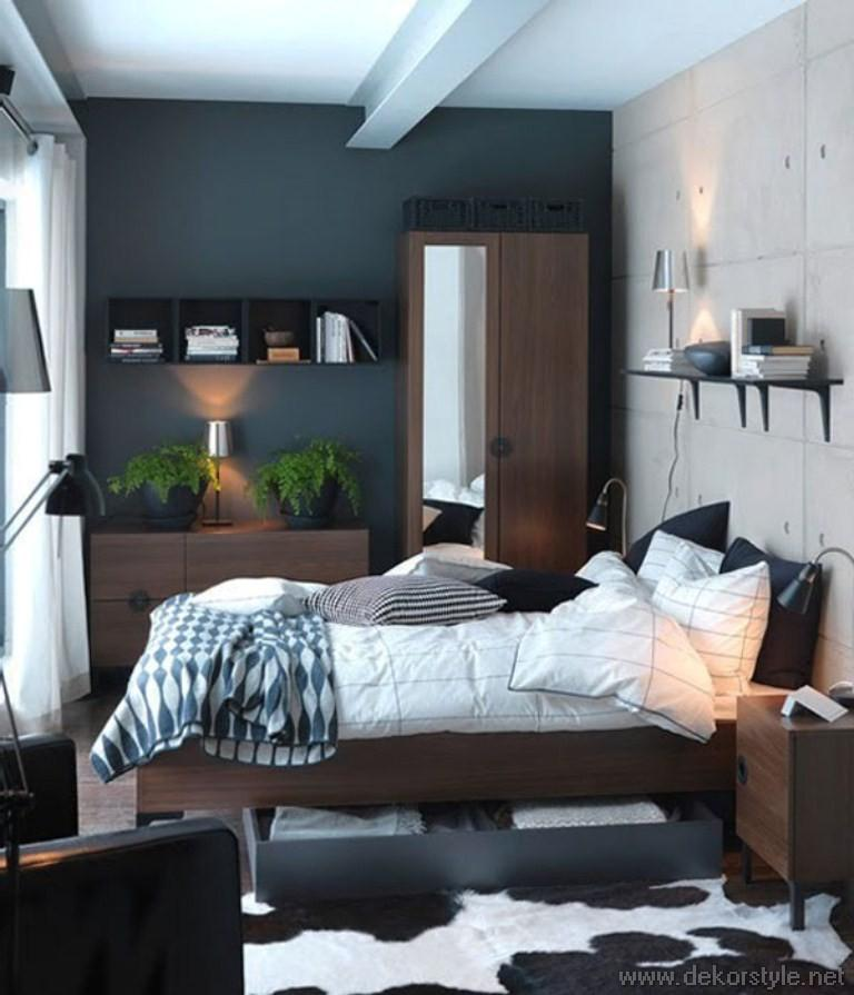 k k yatak odalar i in tasar m fikirleri dekorstyle. Black Bedroom Furniture Sets. Home Design Ideas