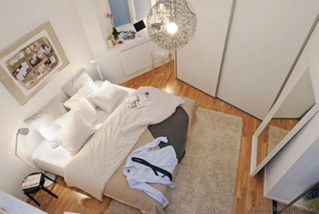 Küçük Yatak Odaları için dolap