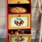 Şirin Mutfak Eşyaları Plastik Erzak Dolabı