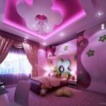 Çocuk Odası Harikalar Diyarı Pembe ve Mor Cümbüşü