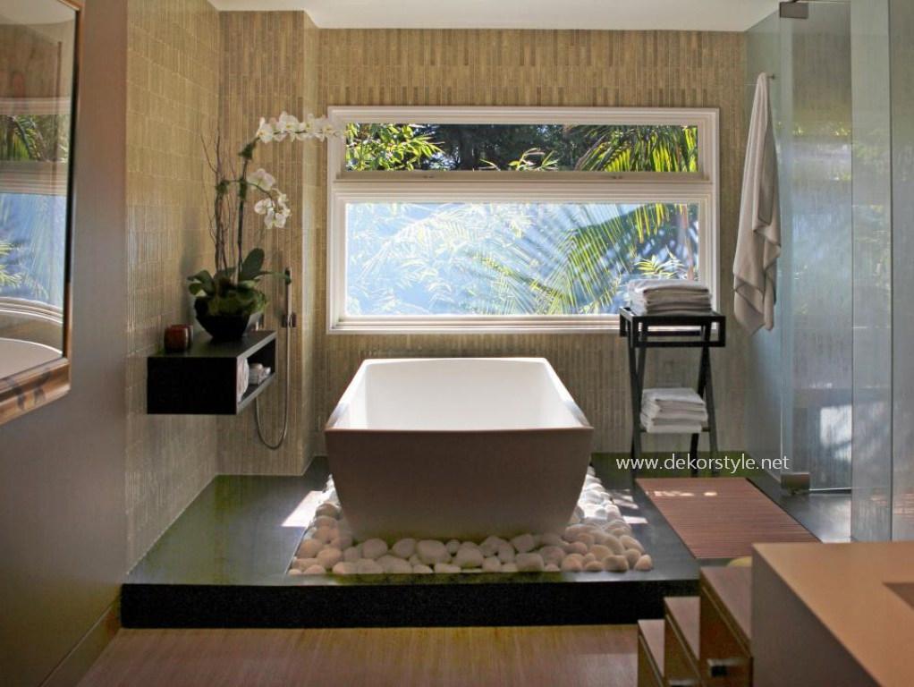 Doğal Banyo Tasarımı