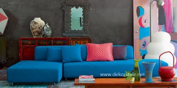Ev Dekorasyonunda Turkuaz Rengi Kullanımı