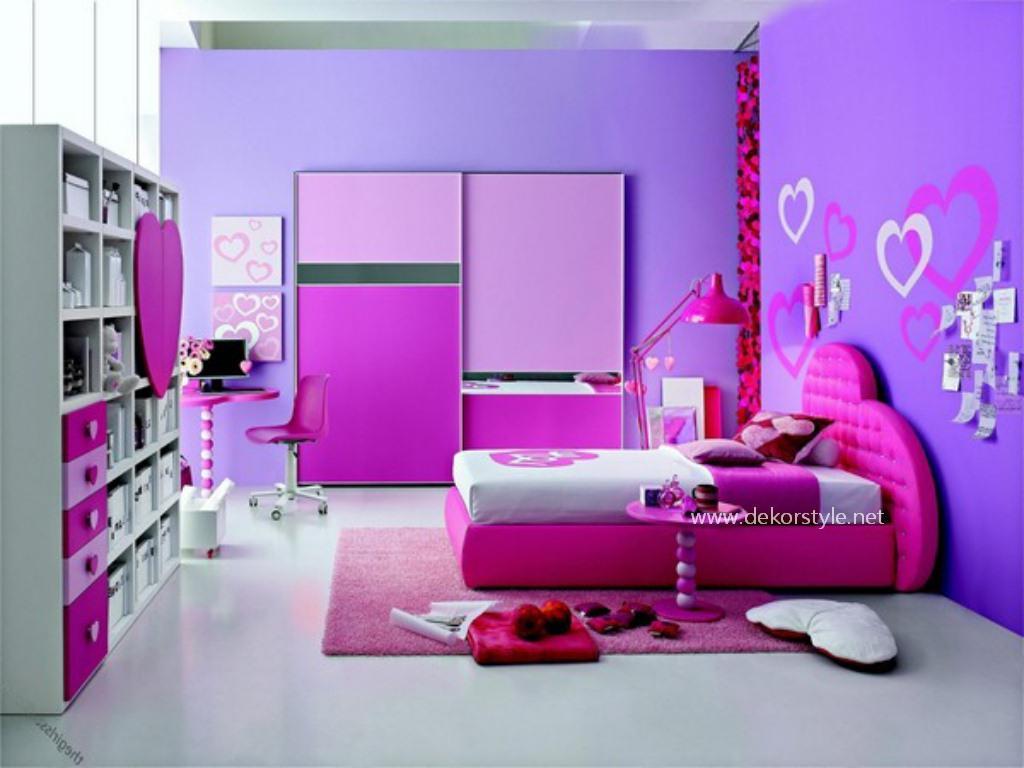 Genç Kız Odası İdeal Renk Leylak