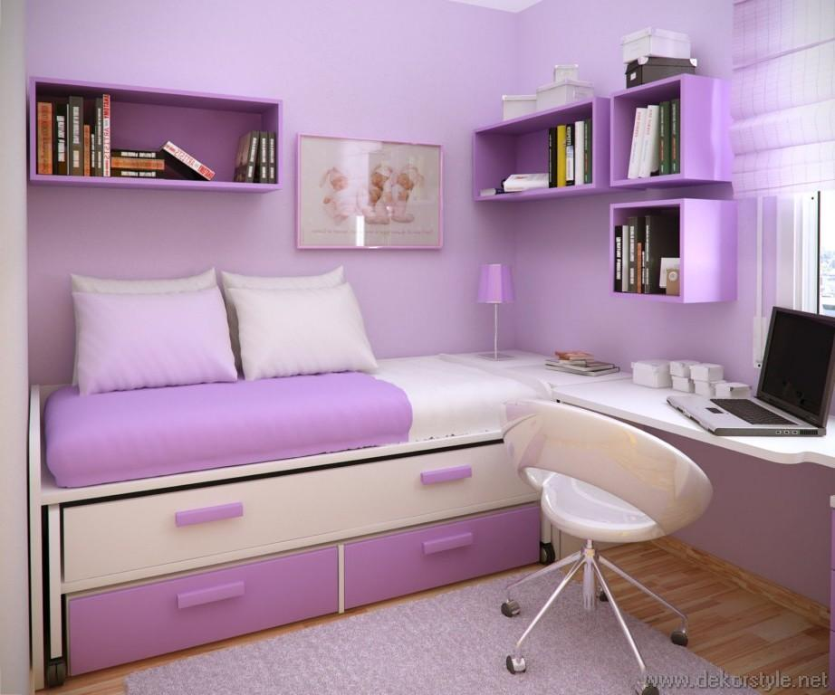 K k gen odas dekoru pembe renk dekorstyle - Bedroom ideas for yr old girl ...