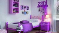 Genç Kız Odası için Açık Leylak Rengin Kullanımı