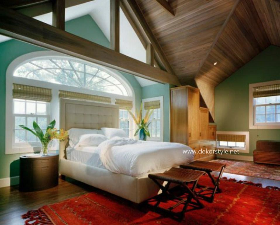 Muhteşem Yatak Odası Dizaynı ve Eşşiz Yatak Başlığı