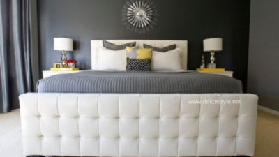 Birbirinden Modern ve Şık Yatak Başlıkları Modelleri