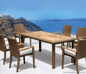 Newport masa sandalye takımı