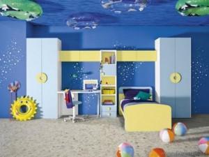 Deniz Temalı Çocuk Odası Fikirleri