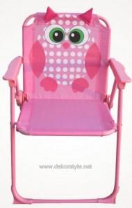 Kuş Figürlü Pembe Katlanır Çocuk Sandalyesi Koçtaş Yeni Modelleri