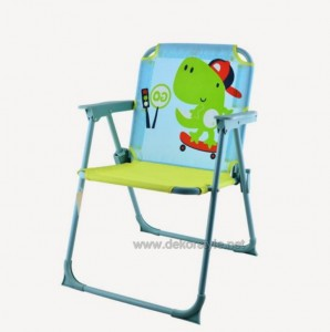 Mavi Sandalye Timsah Figürlü Koçtaş Sandalye 2016