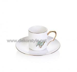 Bernardo Butterfly 6 li Kahve Fincani