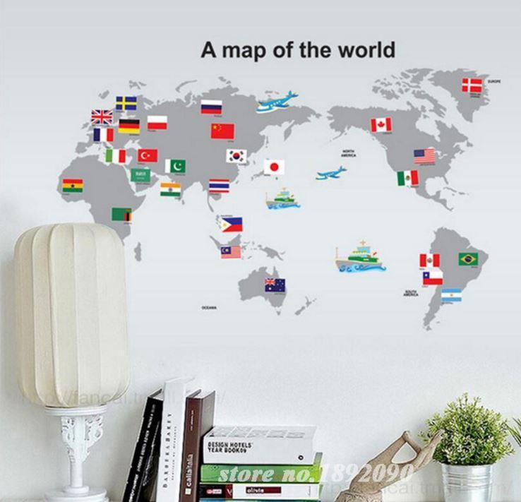 2016 Dünya Haritası Duvar Kağıdı