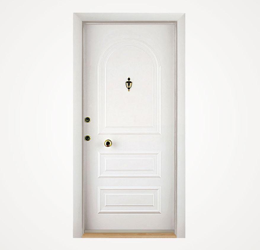 KALE Çelik Çelik Kapı Beyaz 4300TL