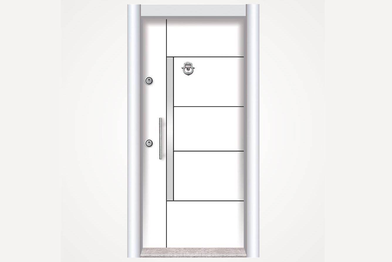 LEXA Çelik Kapı LKS 111 SOL675TL