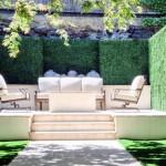 Bahçe oturma koseleri rahatlama mekanlari