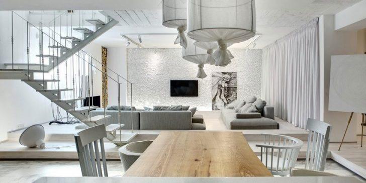 Beyaz Renk İle Ev Dekorasyonu Fikirleri