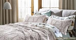 Daisy Yataş Enza Yatak Örtüsü 2017