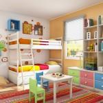 En guzel çocuk odası dekorasyonları