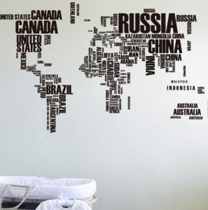 Güncel Dünya Haritası 2016 Duvar Kağıdı