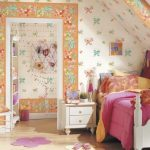 Çocuk Odası Duvar Kağıdı Dekorasyonu