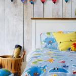 Çocuklar için Yatak Örtüsü 2017 Modelleri