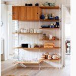 El yapımı mutfak rafları