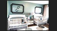 İkiz Bebek Odası Dekorları