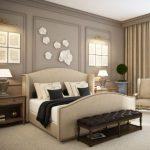 Kahverengi Beyaz Yatak Odası