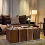 Kahverengi Oturma Odası