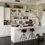 Mutfaklarda Açık Renk Kullanımı