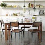Rustik Mutfak Masası Modeli