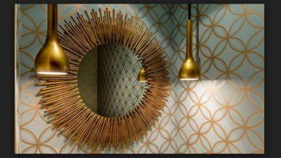 En Şık Çeşitlerle Varak Ayna Modelleri