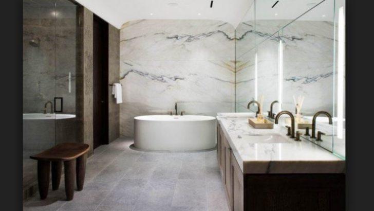 Doğal Mermer Banyo Modelleri
