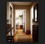 Duvar Kağıtlı Koridor Dekorasyonu